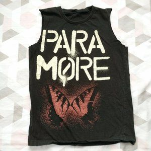 Paramore Graphic Band Muscle Tee T-Shirt 2010 Tour